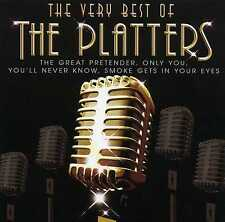 THE PLATTERS - THE VERY BEST OF - NEW CD!!