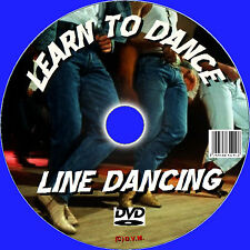 BEGINNERS GUIDE TO LINE DANCING LEARN LINE DANCE VIDEO DVD AND AUDIO CD NEW