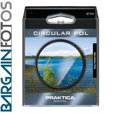 CPL Filtro Polarizador Circular Delgado de 58 mm DSLR Marumi Grasa