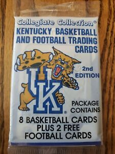 University of Kentucky Basketball Trading Cards 1989 2nd Edition sealed pack