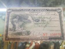 Antique 1926 California Angler's License; Citizen Resident Angling Fishing RARE!