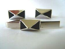 Cufflinks ~ Inv# 1689 1920's Mens Tie Clasp &