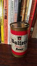 Walter's Pilsener 12oz Flat Top Beer Can  Indoor Can