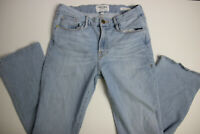 FRAME Denim Womens Le Crop Mini Boot Jeans 27