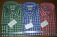 Almsach Trachten Hemd Langarm kariert weiß rot blau grün Gr. S M L XL XXL NEU!!!