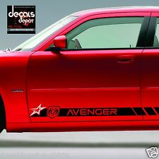 Decal Vinyl Sticker Fits Dodge AVENGER 2009 to 2017  ROCKER PANEL