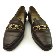 BALLY Loafer / Gold & SilverHardware / Ladies Authentic Used M899