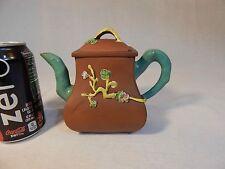 YiXing Zisha Teapot with FenCai and Flower Mark