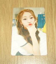 Pristin 2nd mini Album SCHXXL OUT EunWoo B Official Photo card