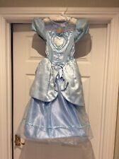 Disney Store Girls Cinderella Dress Costume - Age 5-6 Years