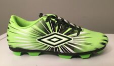 Umbro  Arturo 3.0  Youth Boys Soccer Cleats Size 2.5 Green & Black