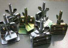 aussie seller - 3 X Heavy Duty Hinge Clamps Tool For Silk Screen Printing Print
