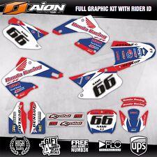 HONDA CR 125 - 250 2000 2001 Decals kit AION MX Graphics kits