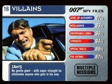 Jaws #16 Villains - 007 James Bond Spy Files Card