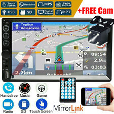 7 Inch DOUBLE 2DIN Car MP5 Player BT Tou+ch Screen Stereo Radio FM AM HD+Camera