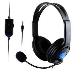 Gaming Wired Headset Supports P4/PC X-One With Audio control