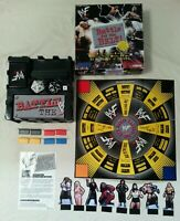 BOARD GAME - WWF Battle For The Belt Board Game Official World Wrestling WWE WWF
