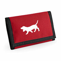 Basset Hound Gift Wallet Rip-Stop Colour Choice Purse Birthday Gift Mothers Day
