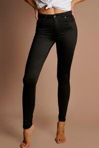 "REFUGE high rise black ""Gelato Legs"" size 12 pants/jeans/leggings mega stretchy"