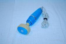 Vintage Dubl Duck 2-Spd VB7 Vibrator Massager Handheld Blue S73