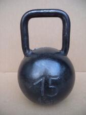 15kg Gewicht alte Hantel antik Eisengewicht Gewichtheber Vintage Industrial alt