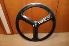 HED/Specialized Carbon Fiber TriSpoke Rear Tubular 700c Wheel -Shimano Sri-Spoke