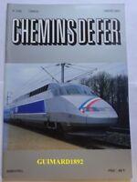 Chemins de fer n° 398 septembre 1989 revue de l'Afac