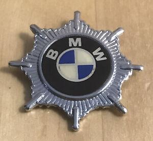 Vintage BMW Motorcycle Bike Large RARE Badge