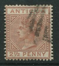 Antigua 1882 2 1/2d red brown used
