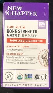 New Chapter Bone Strength Take Care 60 vegetarian slim tablets. Free Shipping