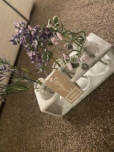 Next At Home Flowers In Jars Ornament BNWT