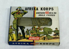 1960s AIRFIX H0 & 00 Scale WWII German Africa Corps Infantry Soldiers Figures