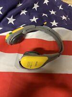 Sony Sports FM/AM Walkman Radio Headphones Model SRF-HM55 Tested Works