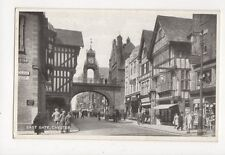 East Gate Chester Vintage Postcard 325a