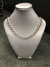 30 Inches 86 Grams Gents Textured Curb Link Chain