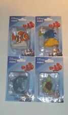 "4 New Disney Figurines. Pixars, Finding Nemo,  Dory, Bruce & Crush New ""CUTE"""