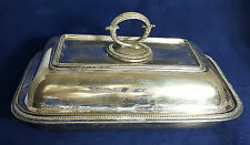 Beautiful Antique 19th Century Silver Plated Tureen by Mappin & Webb