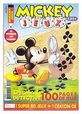 MICKEY JEUX N° 110 DE 2002  BE