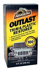 Armor All OUTLAST TRIM & PLASTIC RESTORER Restores Protect Plastic Vinyl Rubber