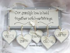 Unbranded Christmas Love Hearts Decorative Plaques & Signs