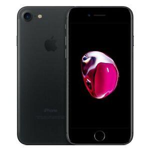 APPLE iPhone 7 32 Go - Smartphone 4G LTE Advanced noir mat A+++ comme neuf