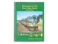 Railroads Of The Pine Tree State - Volume One- by Marson & Jennison ©1999 Book