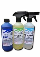 Convertible roof cleaner kit, blue soft top hood dye mould remover waterproofer
