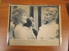 Vintage AP Wire Press Photo Constance Towers, Horse Soldier, Naked Kiss #2