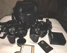 4 Digital Cameras; 1 Canon Video Camera; See Pic. & Item Description & details.
