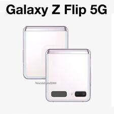 """Samsung Galaxy Z Flip 5G SM-F707N 8G RAM 256GB - Mystic White -Unlocked-  6.7"""""""