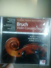 BRUCH: VIOLIN CONCERTO NO 1/ BACH PARTITA NO 3 ETC BBC CD (2013) MENUHIN LITTLE