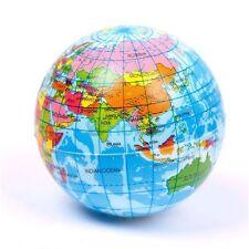 World Map Stress Relief Ball Atlas Globe Palm Ball Planet Earth Foam Ball Hot