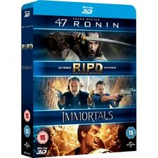 47 Ronin RIPD Immortals 3d Blu-ray 2011 Region