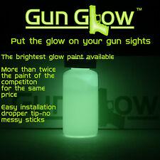 Gun Glow-get Gun Glow on your gun sights-glow in the dark gun sights paint 10 ml